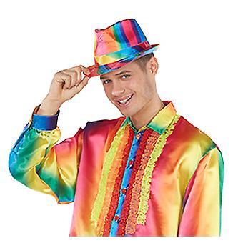 Regenboog Fedora hoed accessoires Halloween carnaval