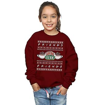 Freunde-Mädchen-Fair-Isle-Central Perk Sweatshirt