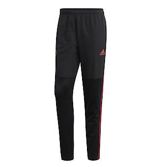 2018-2019 man Utd Adidas varme bukser (svart)