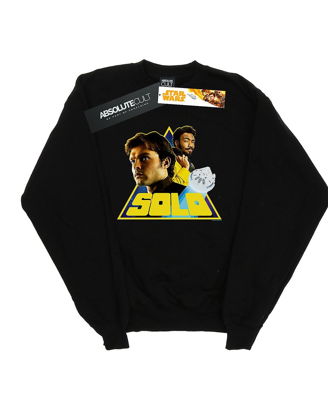 Star Wars Men's Solo Retro Triangle Sweatshirt