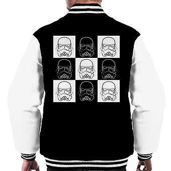 Originele Stormtrooper Vice Versa helmen mannen Varsity Jacket