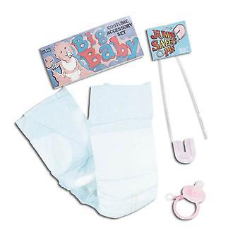 Bnov Big Baby Kit - Nappy/Safety Pin/Dummy