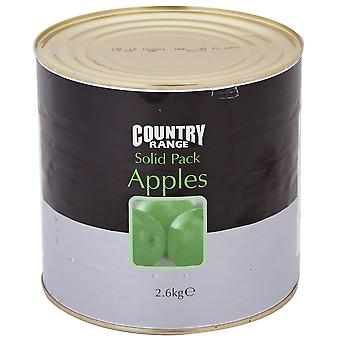 Country Range Apples Tinned Solid Pack
