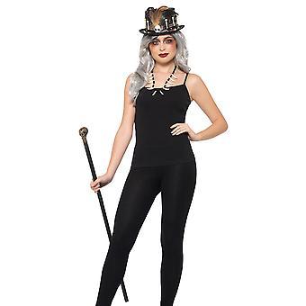 Voodoo Kit set volwassen Halloween kostuum Wizard sjamaan