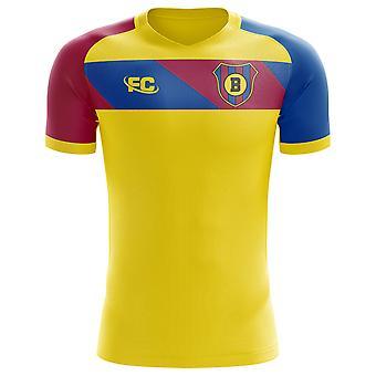 2018-2019 Barcelona Fans kultur bort konceptet skjorta