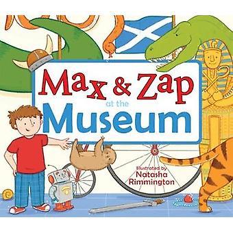Max og Zap på museet af Molly MacPherson - Natasha Rimmington-