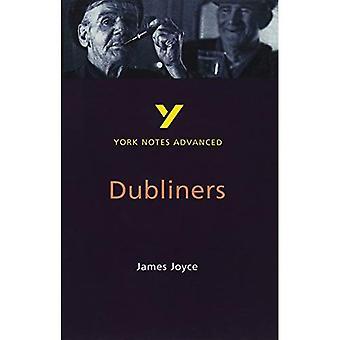 Notes de York sur Dubliners James Joyce (Notes de York avancés)