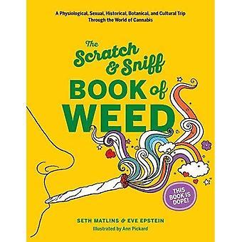El Scratch & Sniff libro de marihuana