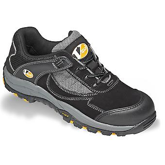 V12 VS300 Fastlane Ii Black/Silver Trainer Shoe EN20345:2011-S1P Size 9