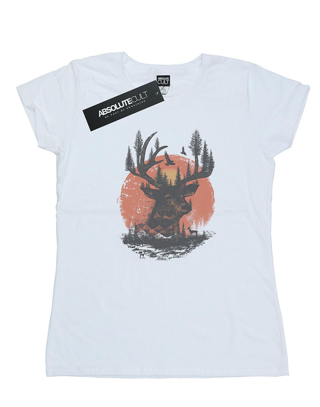 Dan Dingeroz Women's Deer Head T-Shirt