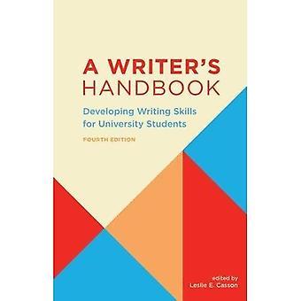 En Writer's Handbook: utveckla skrivförmåga för universitetsstuderande