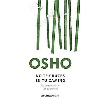 Ingen Te Cruces sv Tu Camino = gör inte korsa din väg