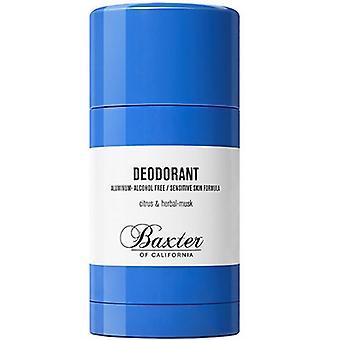 Baxter of California Deodorant Citrus & Herbal Musk 2.65oz / 75g
