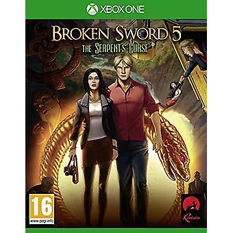 Broken Sword 5 The Serpents Curse (Xbox One) - New