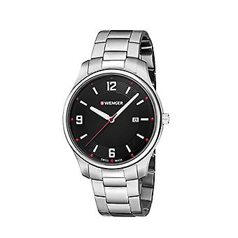 Wegner Unisex Quartz analogue watch with stainless steel band 01.1441.110