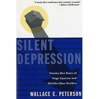 Stiller Depression fünfundzwanzig Jahre Lohn-Preis-Schere und Mittelklasse Rückgang von Peterson & Wallace C.