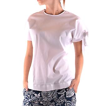 Fay Ezbc035036 Women's White Cotton T-shirt