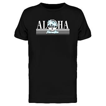 Vintage Tropical Aloha Paradise Tee Men's -Image by Shutterstock
