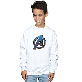Marvel Boys Avengers Endgame Heroic Logo Sweatshirt