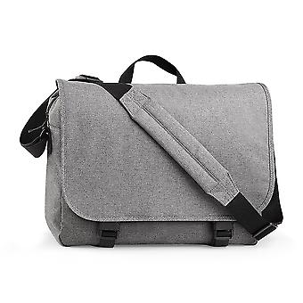 BagBase Two-tone Digital Messenger Bag (Up To 15.6inch Laptop Compartment) (Pack of 2)