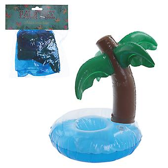 Puckator Palm Tree Inflatable Drinks Holder