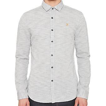 Farah Elsworth True Navy Shirt  F4WF6021