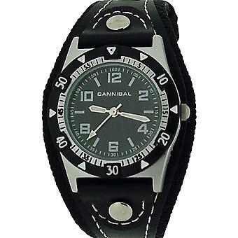 Cannibal Active Boys Black PU Strap Childrens Sports Watch CK087-03
