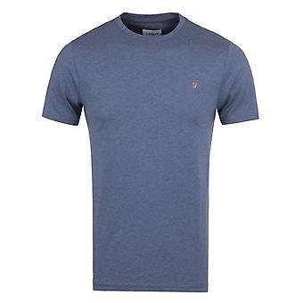 Farah Denny donker Denim mergel Slim Fit T-Shirt