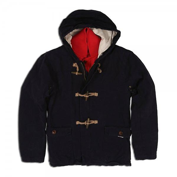 Scotch & Soda Duffle Coat With Inner Quilted Detachable  Jacket Combination