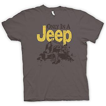 Мужская футболка - Offroad - только в джип