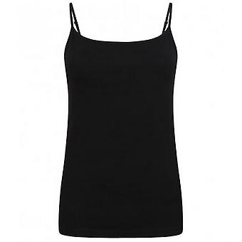 Skinni Fit Womens/Ladies Feel Good Spaghetti Vest