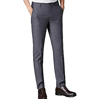 Allthemen Herren Anzug Hose Slim Fit Work Business Kleine Bein-Openning Hose
