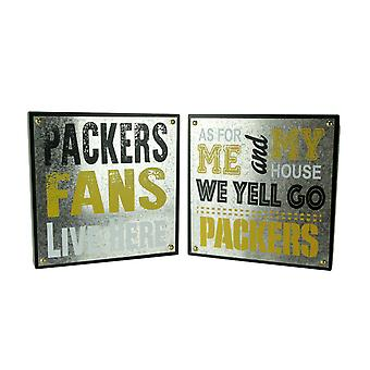 NFL Green Bay Packers Football Fan and Go Packers Wall Hangings