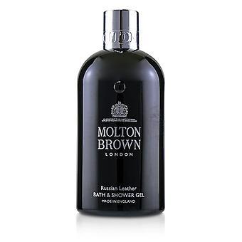 Molton Brown Russian Leather Bath & Shower Gel - 300ml/10oz