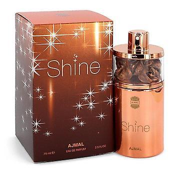 Ajmal shine eau de parfum spray by ajmal 545309 75 ml Ajmal lesk eau de parfum sprej ajmal 545309 75 ml