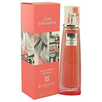 Live vastustamaton Delicieuse Eau de Parfum Spray by Givenchy 539431 75 ml