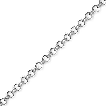 Jewelco London Sterling Silber 5mm Gauge Belcher Kette