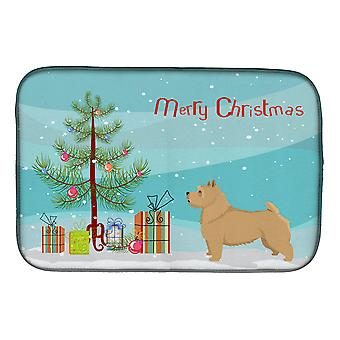 Carolines Treasures  CK3551DDM Norwich Terrier Christmas Tree Dish Drying Mat