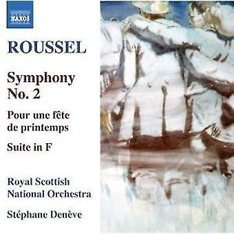 R. Roussel - Roussel: Sinfonia n. 2; Pour Une F Te De Printemps; Suite in F [CD] USA importare