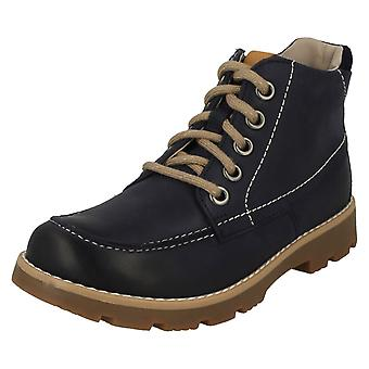 Boys Clarks Casual Boots Comet Moon