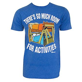 Step Brothers Room For Activities Blue Tee Shirt