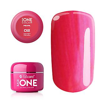 Base one-Pearl-Candy Pearl 5g UV Gel