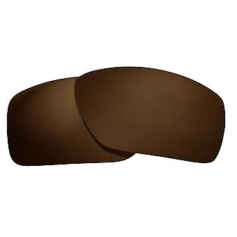 Polarized Replacement Lenses for Oakley Big Taco Sunglasses Brown Anti-Scratch Anti-Glare UV400 by SeekOptics