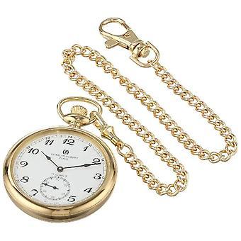 Charles-Hubert Clock Woman Ref. 3756-GA