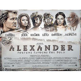 Alexander (kaksipuolinen) alkuperäinen elokuva juliste
