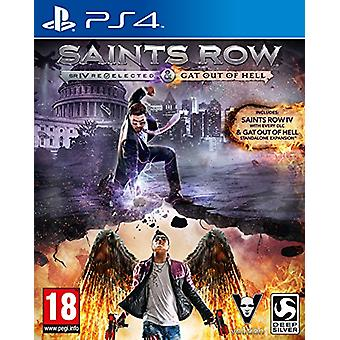 Saints Row IV Re-Elected and Saints Row Gat Out of Hell (PS4) - New