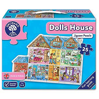 Orchard Toys Dolls House - Shaped Floor Puzzle