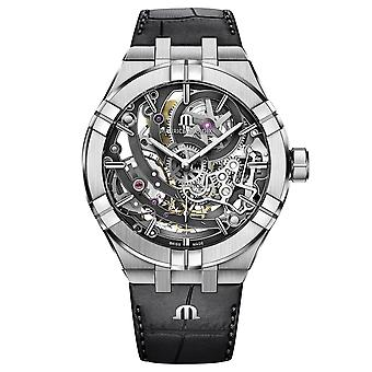Maurice Lacroix AI6028-SS001-030-1 Men's Aikon Automatic Skeleton Wristwatch