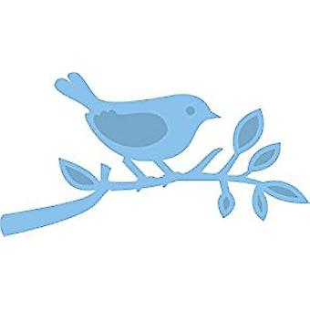 Marianne Design Bird Small Branch Creatable Die, Blue
