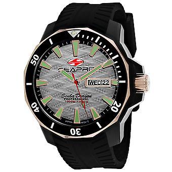 Seapro Men's Scuba Dragon Diver Edición Limitada 1000 Metros Reloj de Marcado De Plata - SP8321